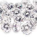 8 Pointer melee diamond parcel 1 carat F/G PK1 round cut melee diamond parcel