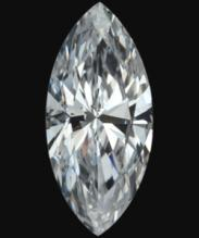 E VVS1 diamond marquise cut loose 0.50 carats natural