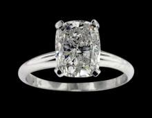 0.75 ct. G VS1 Radiant cut diamond solitaire ring new