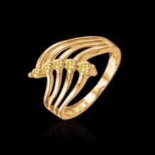 1 ct. white yellow gold diamonds contemporary ring