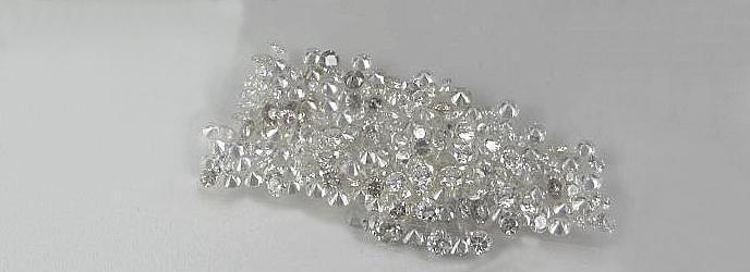 Diamond parcel 1 pointer 2 carat round star melee