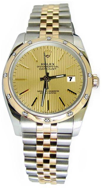 champagne tapestry dial Bezel pearlmaster diamond rolex date just watch jubilee