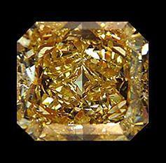 1.50 carat radiant cut loose diamond chocolate brown