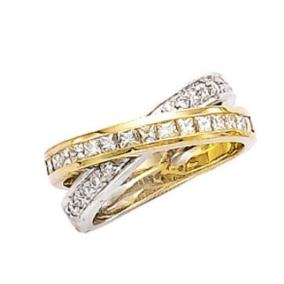 Diamonds 2 carats G VS2 diamonds ring princess