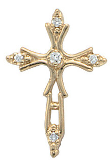 3 carat G VS1 DIAMOND CROSS pendant necklace