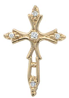 3 carat G VS1 DIAMOND CROSS pendant necklace