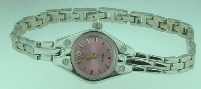 LUXURY WATCHES ladies solid gold watch with