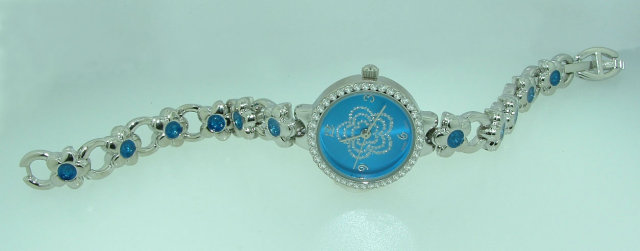 white gold wrist WATCH WITH DIAMOND luxury