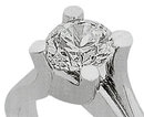 0.5 ct SOLITAIRE HIGH BRILLIANCE DIAMOND ring
