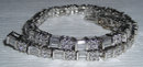 4 carats diamond tennis bracelet white gold