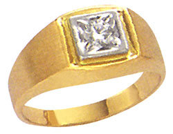 G VS1 natural diamond mens ring gents new jewelry