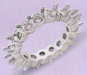 Diamonds 3.5 Cts diamonds WEDDING BAND ring platinum !