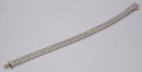 28.8 carats DIAMOND TENNIS CARPET BRACELET VS jewelry