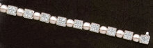 2.75 ct DIAMOND TENNIS BRACELET white gold jewelry