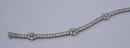 12 carats DIAMOND TENNIS BRACELET VS jewelry FLORAL