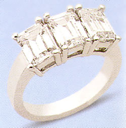 47TH STREET EXTREME BRILLIANCE DIAMOND RING 1.53 CARATS
