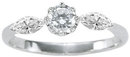 F VVS1/VS1 1.15 ct diamond engagement ring PLATINUM