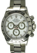 Rolex daytona STAINLESS STEEL white or black dial best