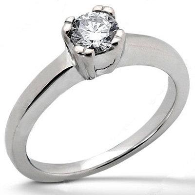 E VVS1 gold 3.0 ct. DIAMOND solitaire NEW engagement