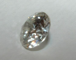 3 carats F VVS1 loose round diamond