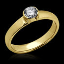 0.50 carat beautiful E VVS1 diamonds solitaire ring