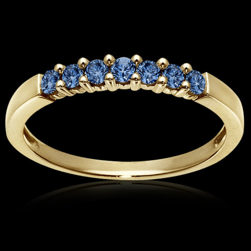 1.05 carat blue diamonds engagement ring band wedding