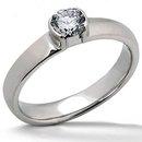 0.50 carat beautiful E VVS1 diamonds solitaire ring