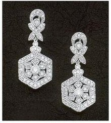 1.51 carats DIAMOND EARRINGS mini small HIGH QUALITY