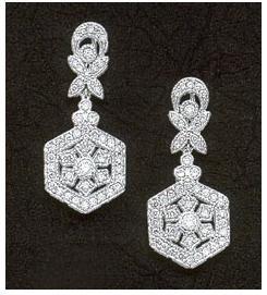 1.51 carats DIAMOND EARRINGS mini small HIGH QUALITY
