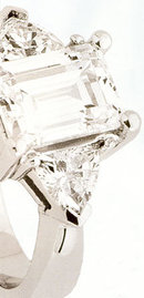 3 STONE DIAMOND RING 0.65 CTS PLATINUM diamond ring