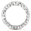 Gorgeous 1.0 Ct. E VVS1 diamonds eternity wedding band