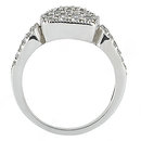 1.20 Ct. diamond wedding ring F VVS1 diamonds gold ring