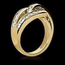 0.84 cts. Diamonds wedding band womens yellow gold ring