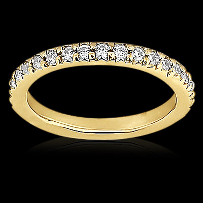 1.5 Ct diamonds F VS1 eternity wedding anniversary band