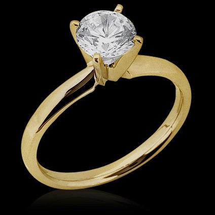 0.50 ct. F VS1 diamonds wedding solitaire ring gold new