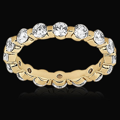 1.60 carats gold F VS1 DIAMONDS eternity wedding band