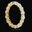 1.60 carats gold F VS1 DIAMONDS eternity wedding band
