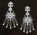 1.56 carats DIAMOND CHANDELIER EARRING HIGH QUALITY
