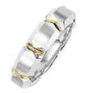 his and hers ring bridal gold PLATINUM WEDDING BAND