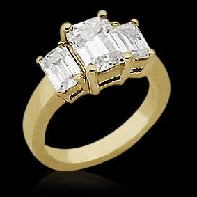 47TH STREET DIAMOND RING ENGAGEMENT ANNIVERSARY 1 CT