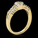 1.34 carats white gold DIAMOND RING E VVS1 wedding ring