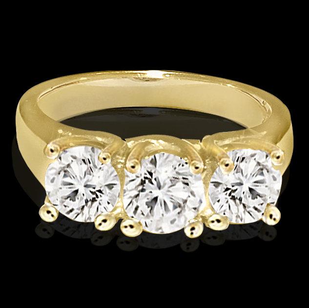 Diamonds 1.5 CT diamond ring anniversary anniversary !