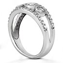 1.46 ct. DIAMONDS F VVS1 GOLD engagement ring new