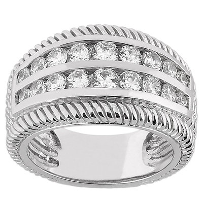 1.16 Ct. diamonds right hand ring anniversary ring gold