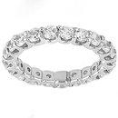 2.20 carat diamonds F VS1 wedding band jewelry gold