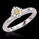 1.51 ct. yellow canary diamonds anniversary ring gold
