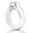 1.01 ct. gorgeous F VS1 DIAMOND SOLITAIRE ring jewelry