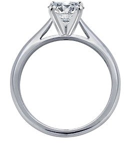 F VS1 DIAMOND RING 1.01 CT. GOLD jewelry SOLITAIRE