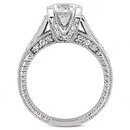 1.69 carats F VS1 Round diamonds ring engagement gold