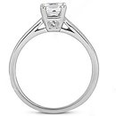 Diamond 1.2 ct. Engagement solitaire ring F VS1 jewelry